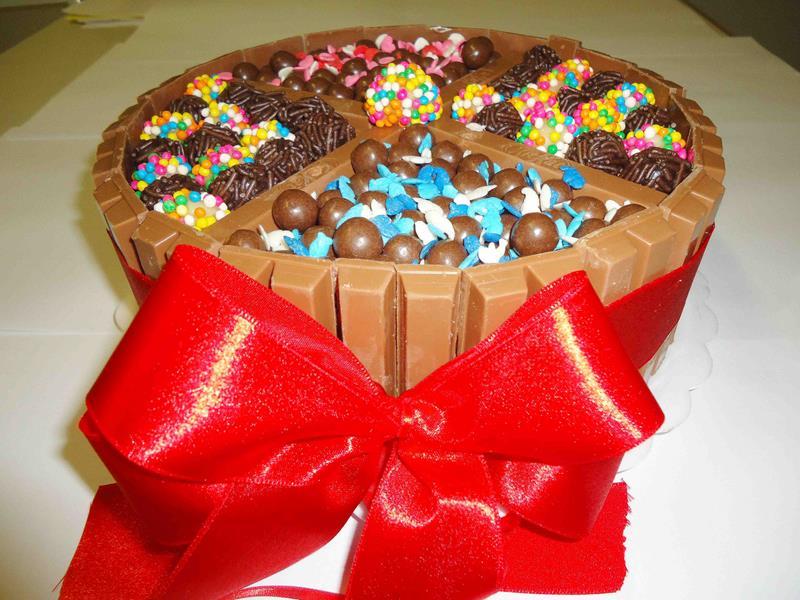 Torta de Kit Kat